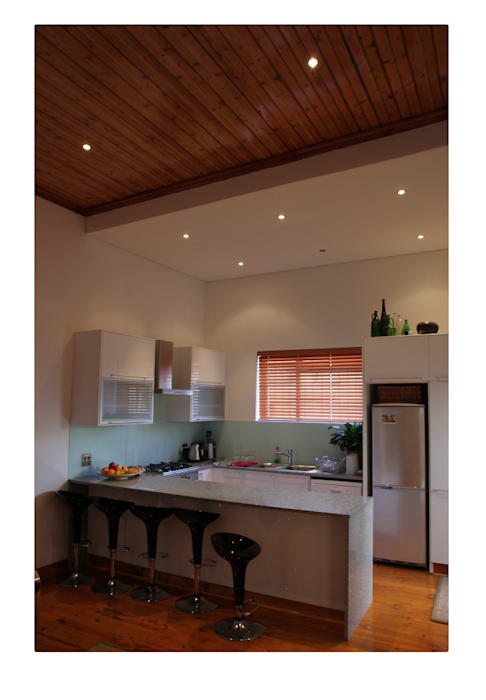 Alex Jordaan Construction 現代廚房設計點子、靈感&圖片