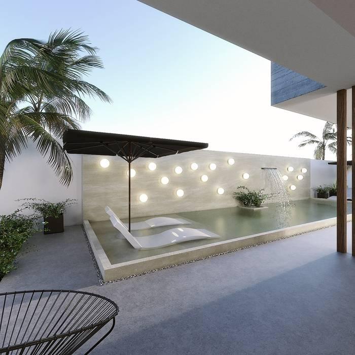 Garden Pool by Taller Veinte