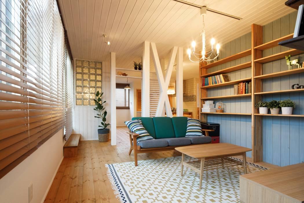 Phòng khách phong cách Bắc Âu bởi dwarf Bắc Âu