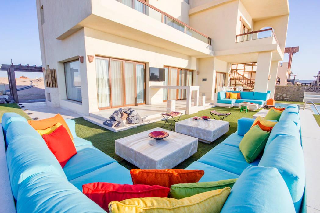 COCA INTERIORS Ausgefallener Balkon, Veranda & Terrasse