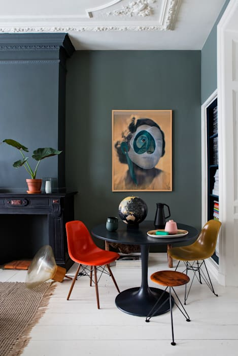 Eclectic style dining room by FORM MAKERS interior - concept - design Eclectic Plastic