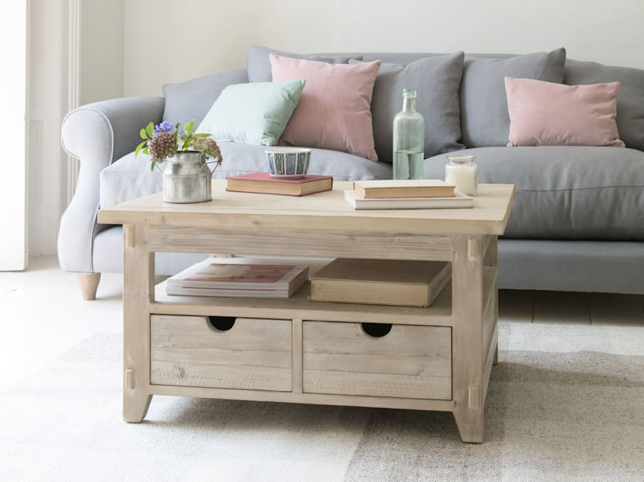 Paddler coffee table: modern Living room by Loaf
