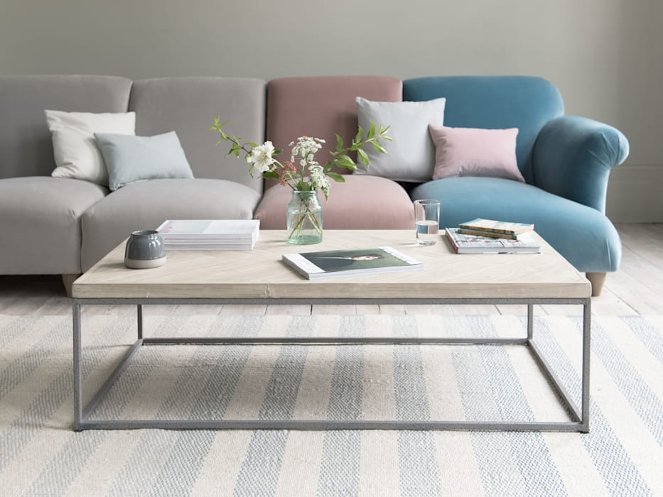 Parker coffee table: modern Living room by Loaf