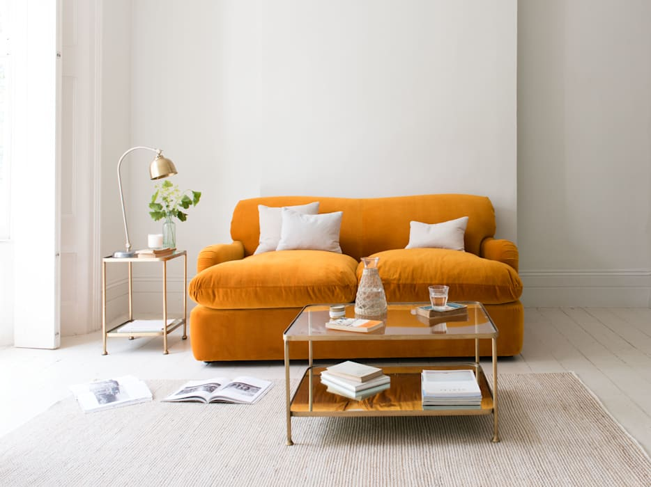 Pudding sofa bed: modern Living room by Loaf