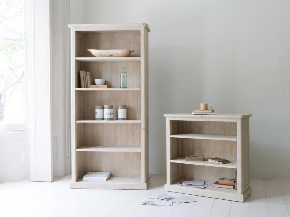 High Stash and Low Stash bookshelves: modern Bedroom by Loaf