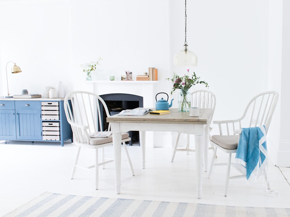 Toaster Flip Top in Vintage White: modern Dining room by Loaf