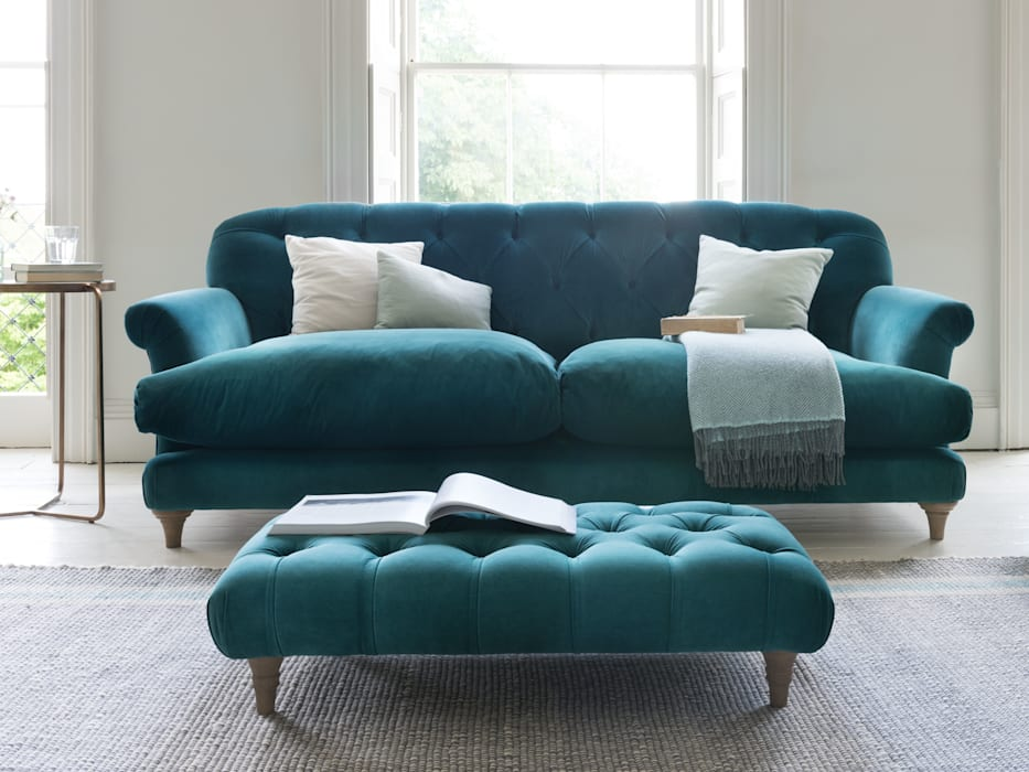 Comfty footstool :  Living room by Loaf