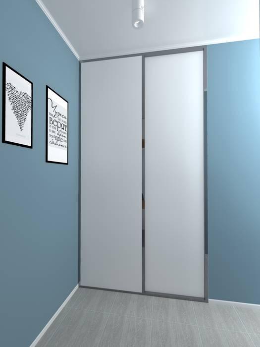 Дизайн проект однокомнатной квартиры для молодой семьи.: Коридор и прихожая в . Автор – ARTWAY центр профессиональных дизайнеров и строителей
