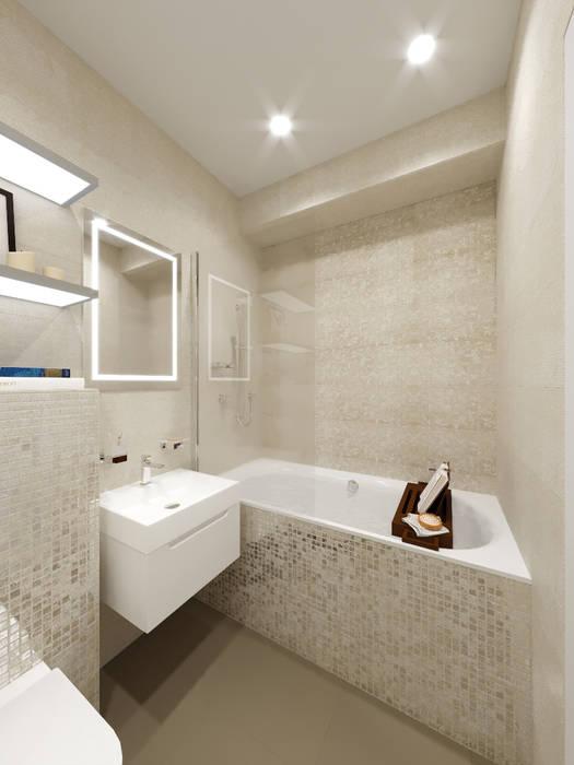 Современная классика в интерьере квартиры : Ванные комнаты в . Автор – ARTWAY центр профессиональных дизайнеров и строителей