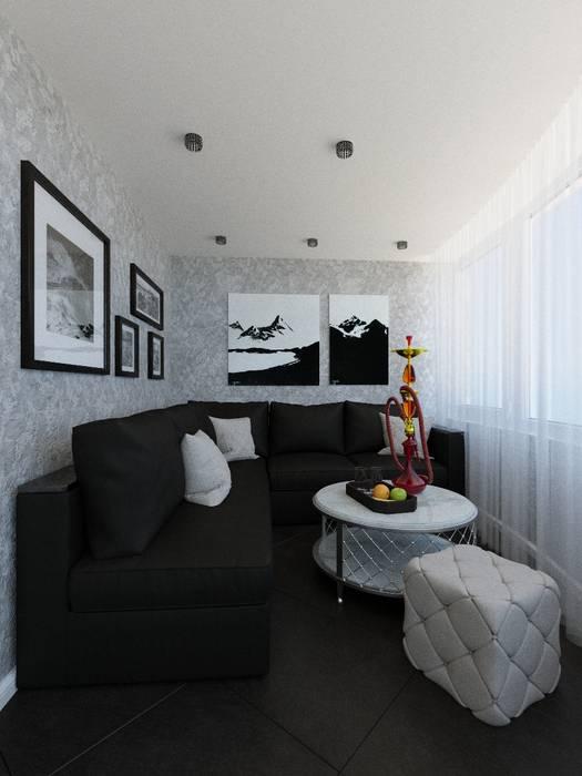 Современная классика в интерьере квартиры : Сады в . Автор – ARTWAY центр профессиональных дизайнеров и строителей