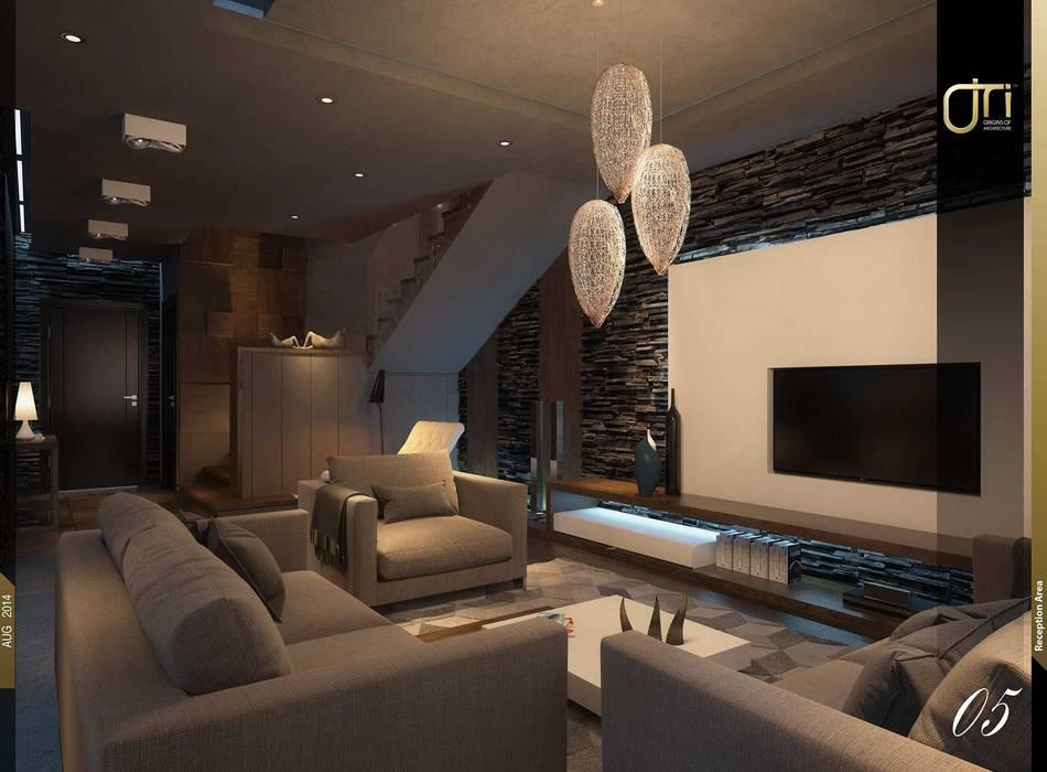 Ruang Keluarga oleh Ori - Architects, Modern