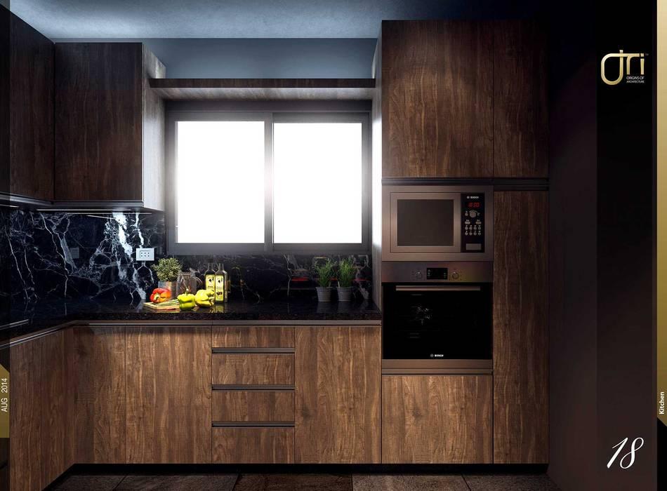 Cuisine de style  par Ori - Architects
