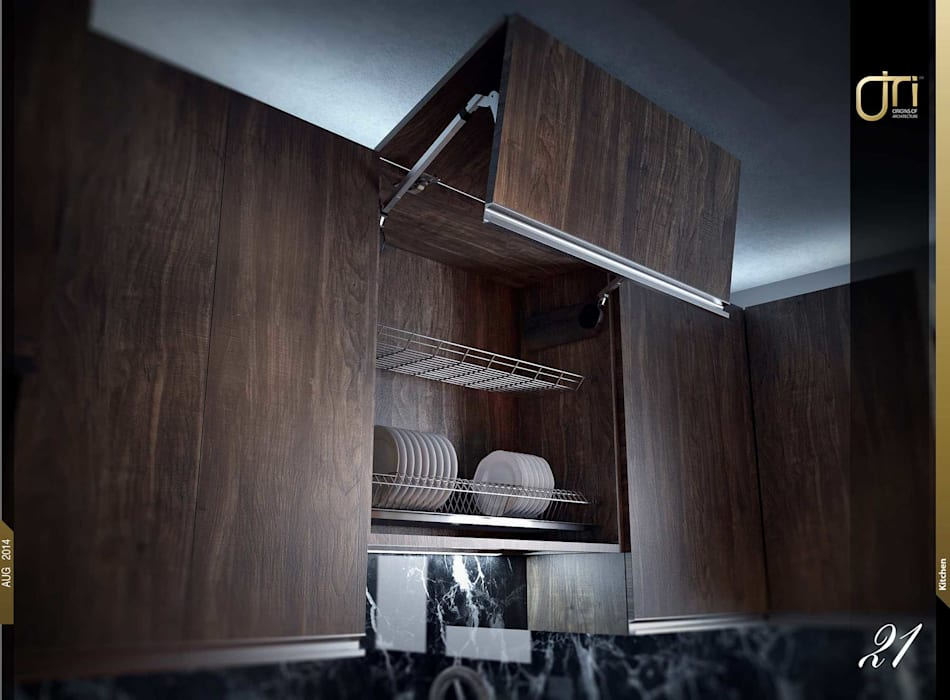 La Terra Residence Modern kitchen by Ori - Architects Modern