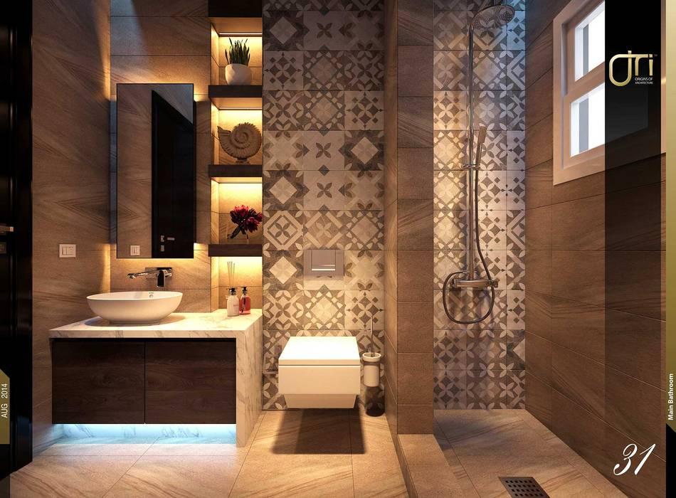 La Terra Residence: modern Bathroom by Ori - Architects