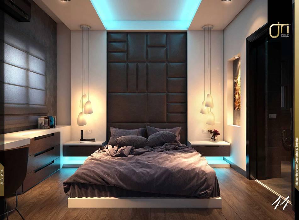 Kamar Tidur oleh Ori - Architects, Modern