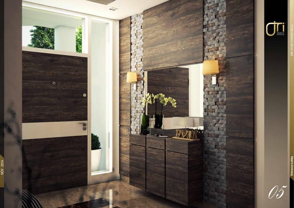 La Nouva Residence Ori - Architects Modern Corridor, Hallway and Staircase