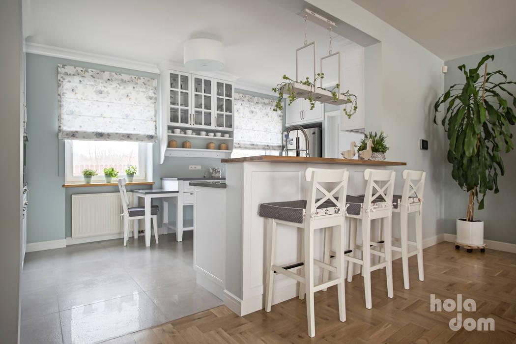 Cocinas a medida  de estilo  por HOLADOM Ewa Korolczuk Studio Architektury i Wnętrz