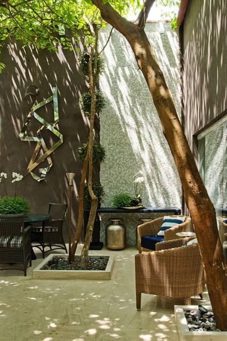 Interart Design de Interiores Modern style conservatory Stone Brown