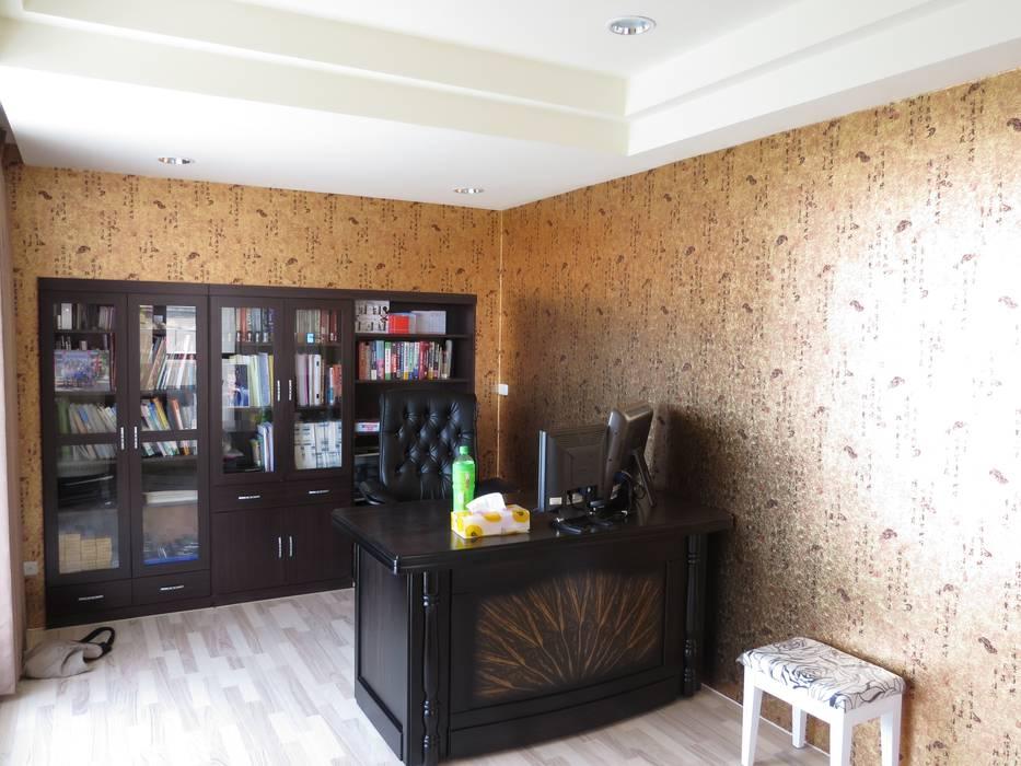 品味溫馨舒適機能性規劃:  書房/辦公室 by 登品空間規劃工程有限公司
