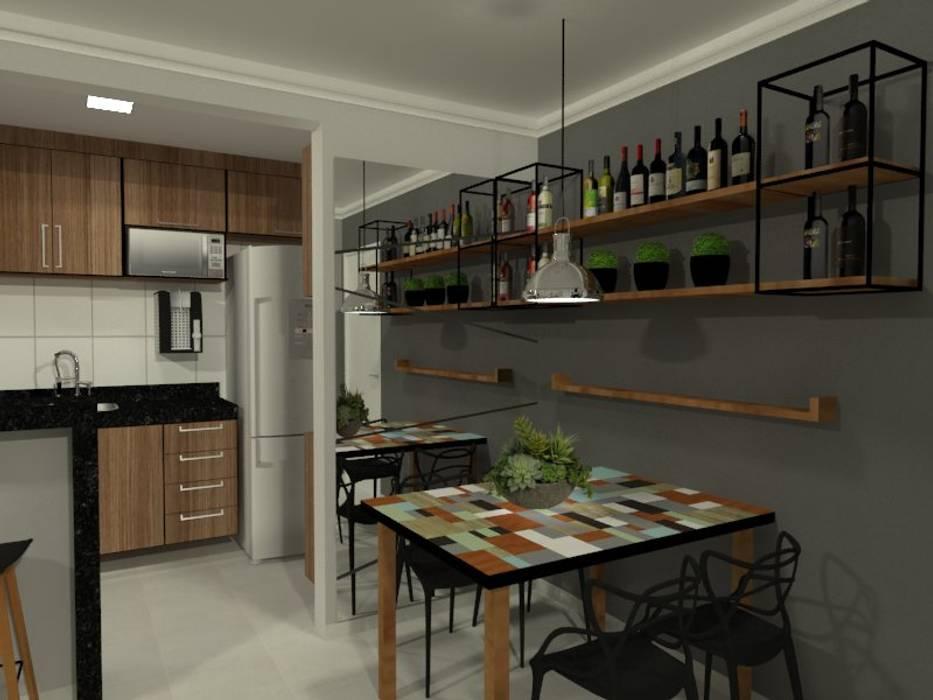 Modern living room by Bruna Ferraresi Modern