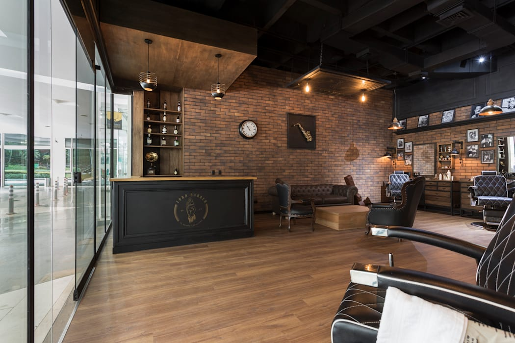 Commercial Spaces by Adrede Diseño, Rustic Wood Wood effect