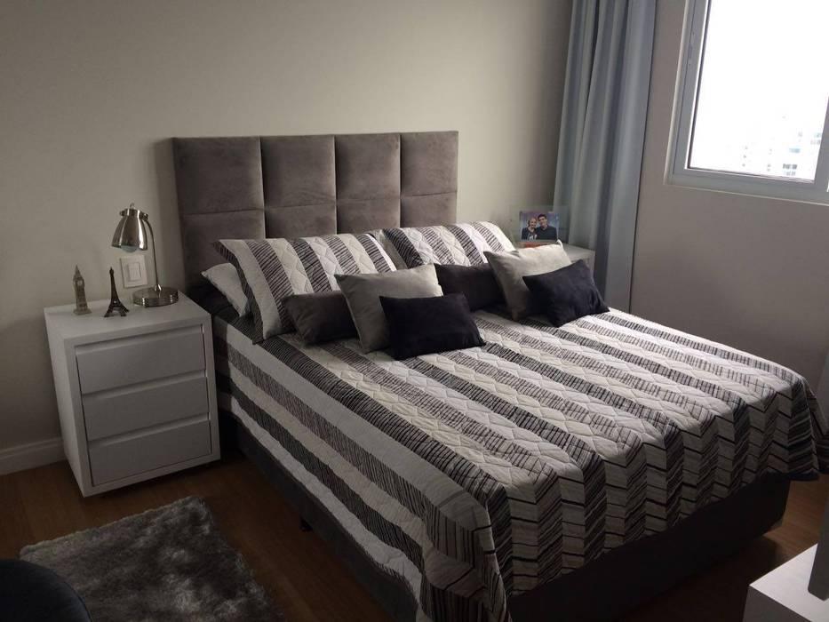 Apartamento en Itajaí Brasil: Habitaciones de estilo  por MBdesign