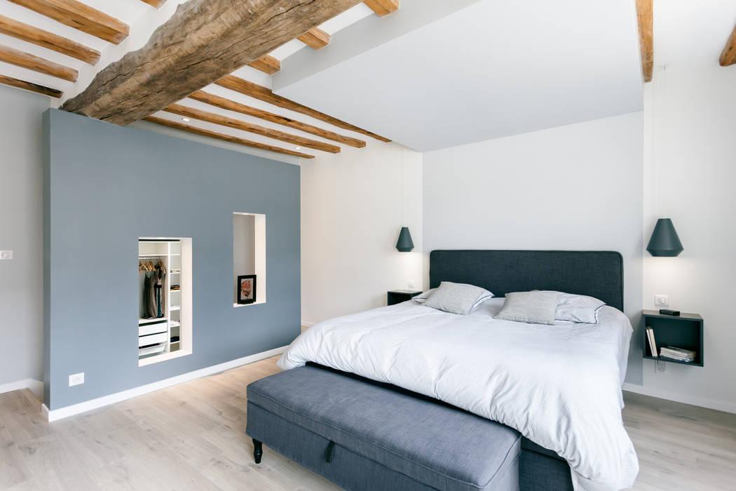 Suite parentale chambre moderne par madam architecture ...