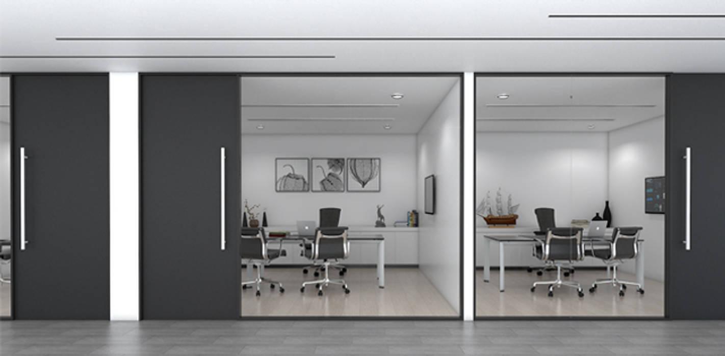 ห้องผู้บริหาร:  อาคารสำนักงาน by DD Double Design