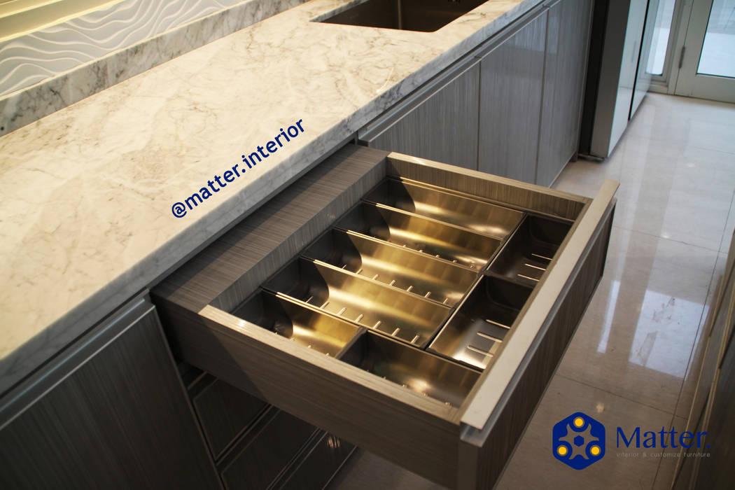 kitchen set Dapur Minimalis Oleh Matter Interior Minimalis