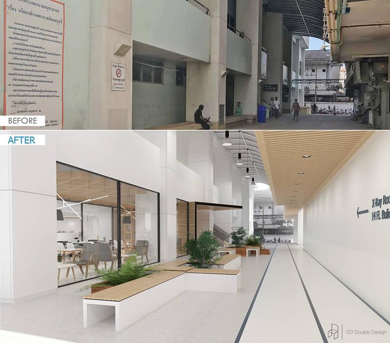 โรงพยาบาล สมุทรสาคร โดย DD Double Design ผสมผสาน