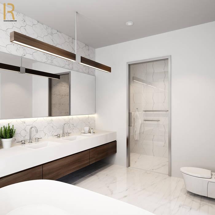 VILLA - VŨNG TÀU REAL HOME VN Phòng tắm phong cách hiện đại