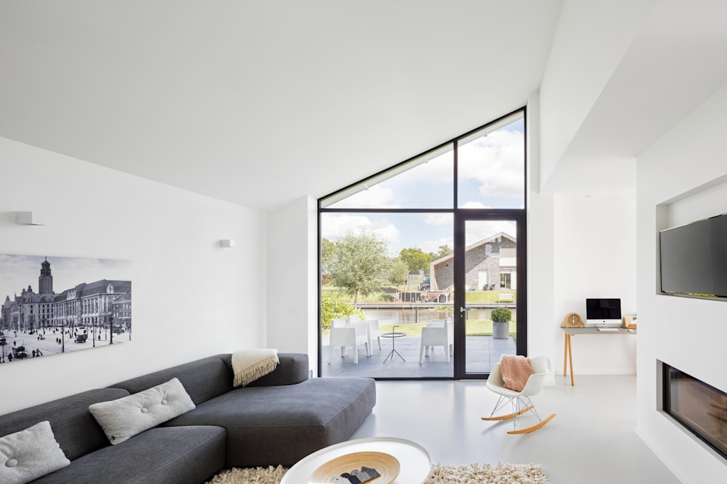 Living room by BNLA architecten