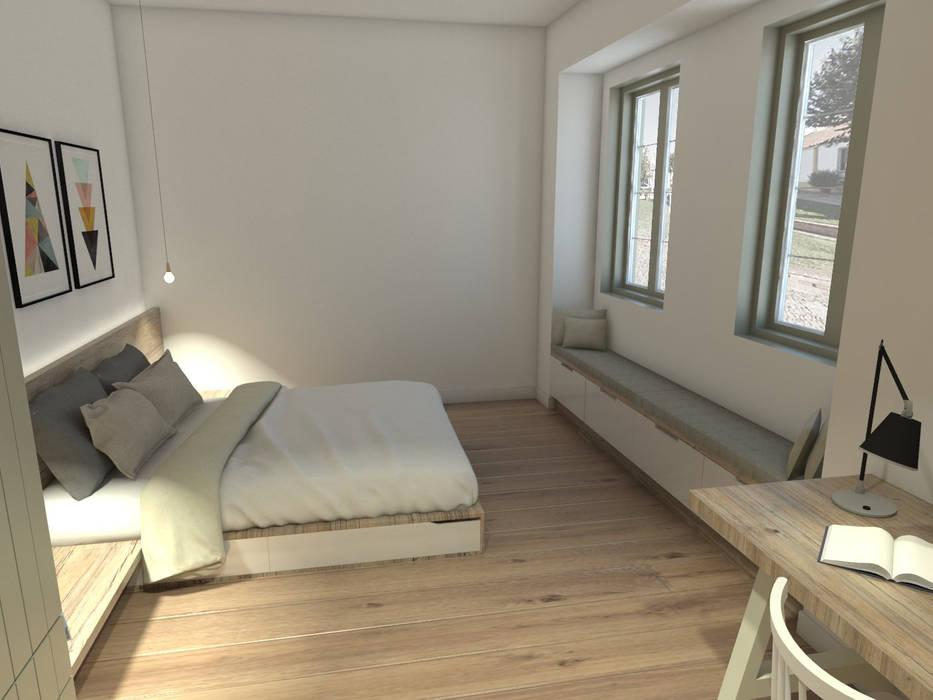 Mediterranean style bedroom by Grupo Norma Mediterranean