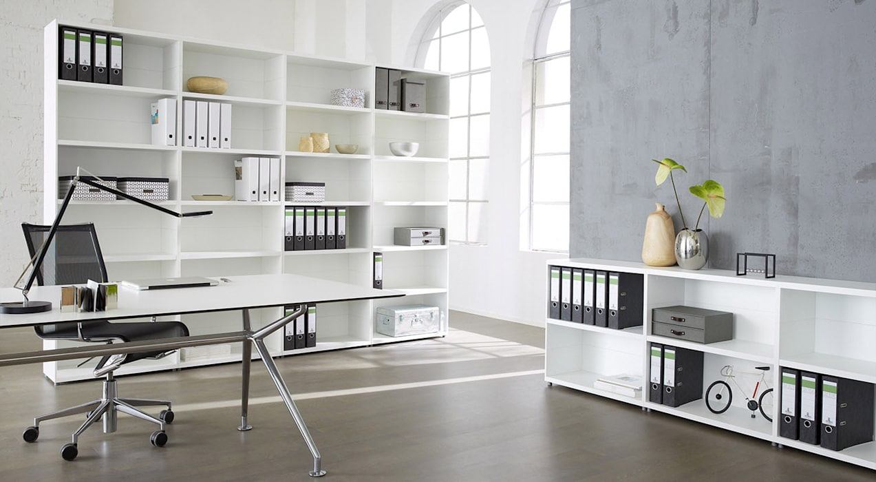 CASE - Bookcase Units:  Study/office by Regalraum UK