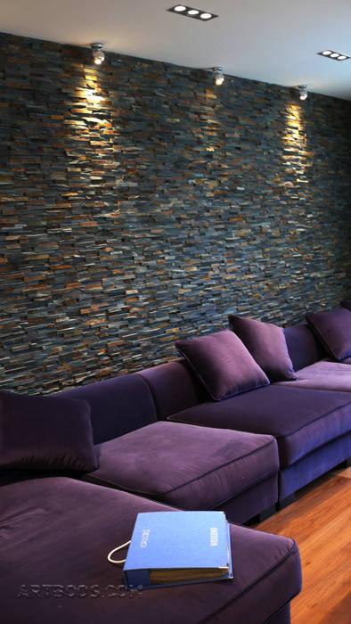 Творческая мастерская АRTBOOS Minimalist living room