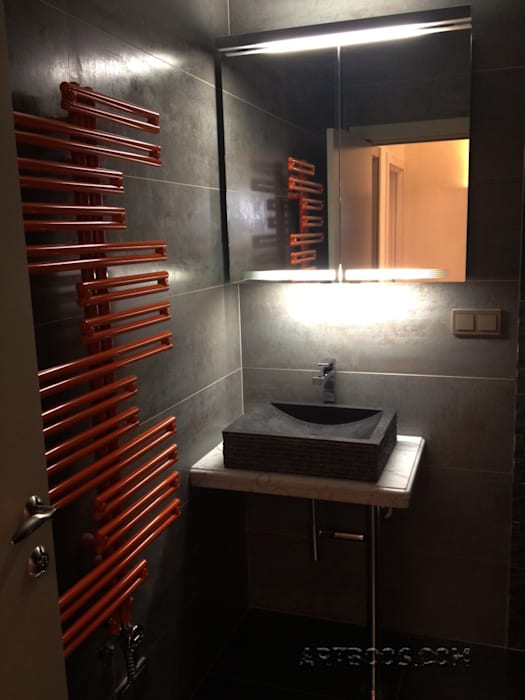 Творческая мастерская АRTBOOS Minimalist bathroom