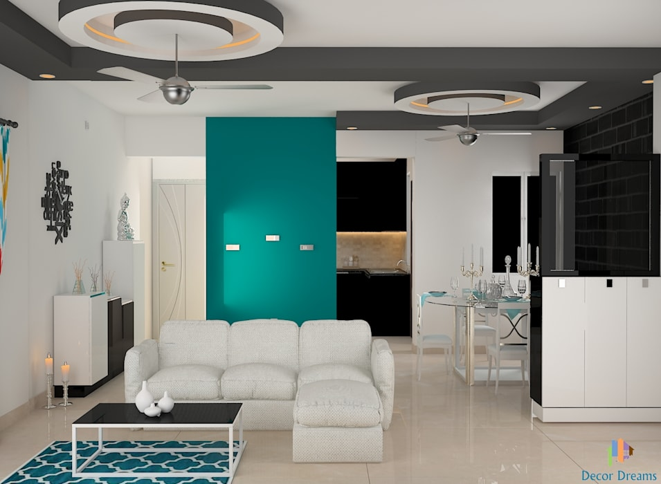 Modern Living Room by DECOR DREAMS Modern