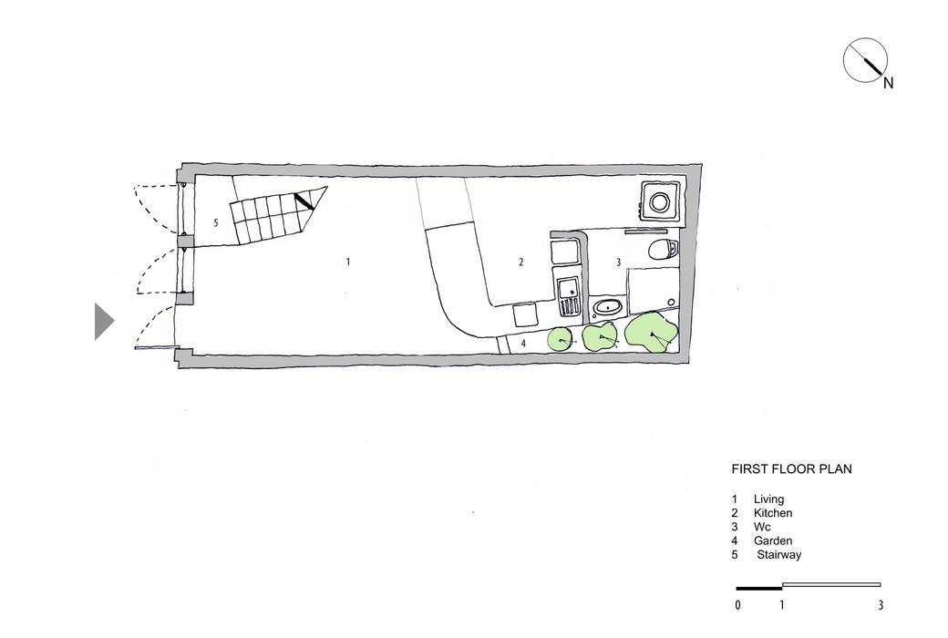 Maison T: hiện đại  by NGHIA-ARCHITECT, Hiện đại