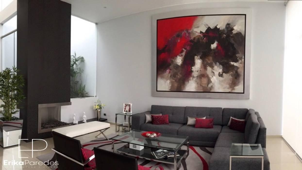 Sala Principal: Salas / recibidores de estilo  por EPG  Studio