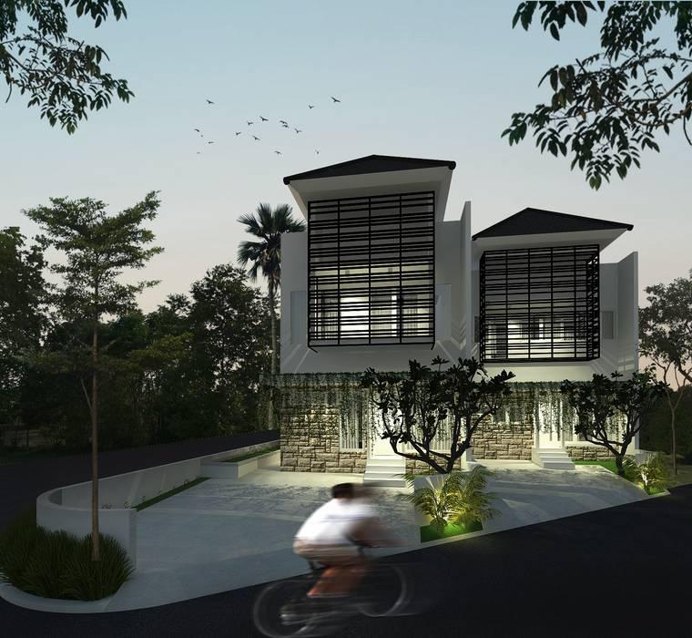 House 3 Oleh SEKALA Studio Modern Batu Bata