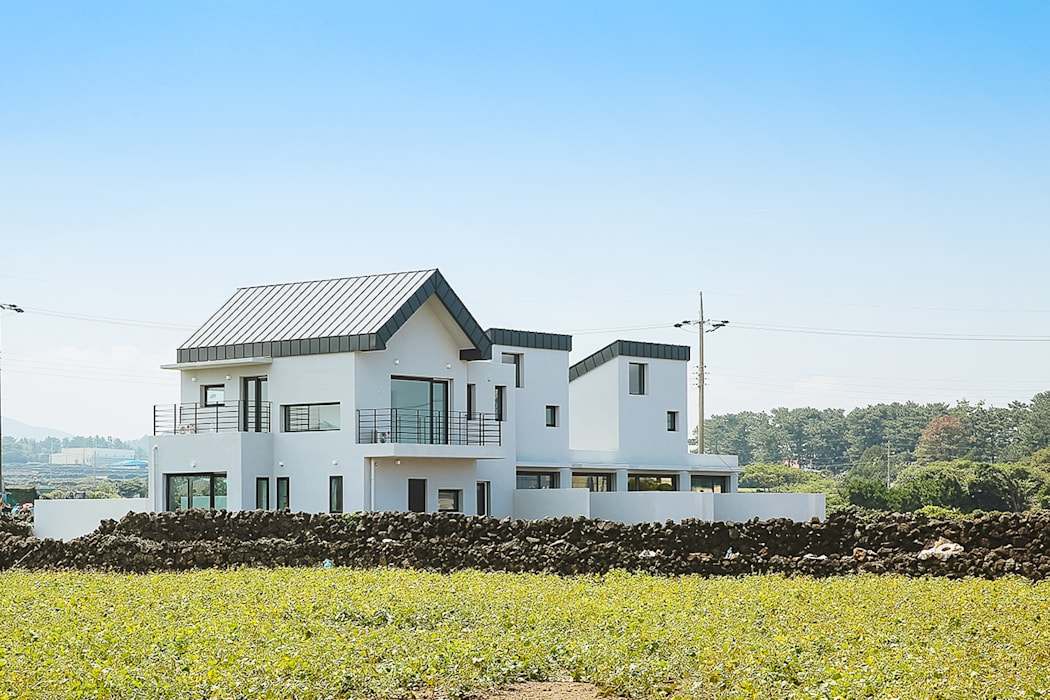 MONG_RO (꿈길) AAPA건축사사무소 모던스타일 주택
