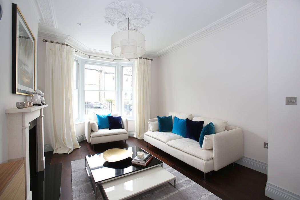 Converted Period House Modern living room by Corebuild Ltd Modern