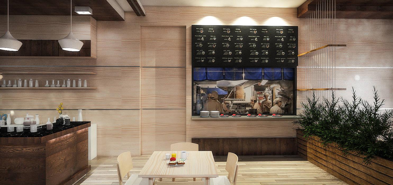Nadee10 Hotel KhonKaen:  ห้องทานข้าว โดย HEAD DESIGN, โมเดิร์น