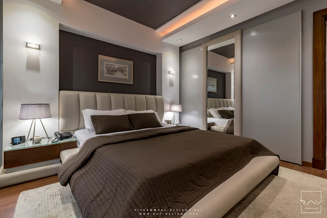 modern Bedroom by RayDesigns