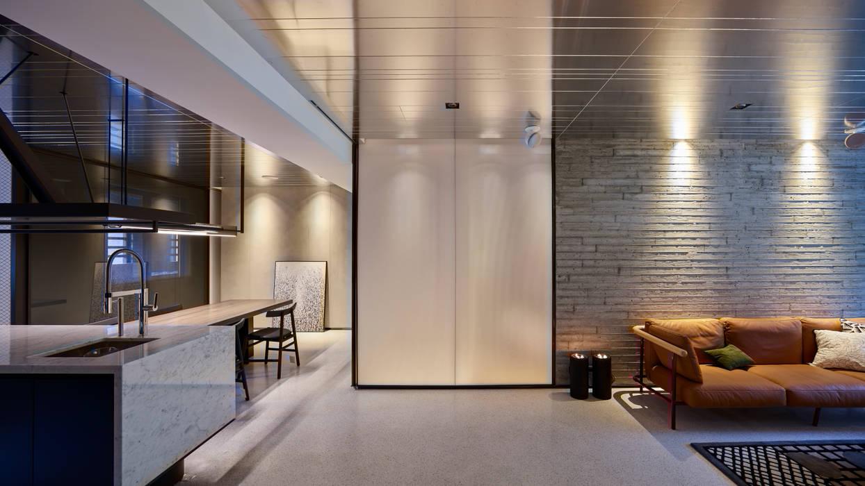 Modern Living Room by 沈志忠聯合設計 Modern