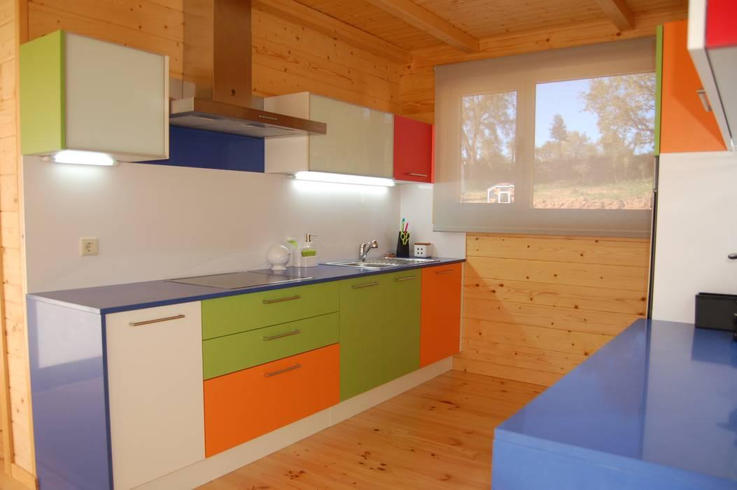 RUSTICASA Unit dapur Kayu Wood effect