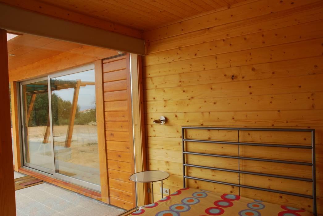 RUSTICASA Kamar Tidur Modern Kayu Wood effect