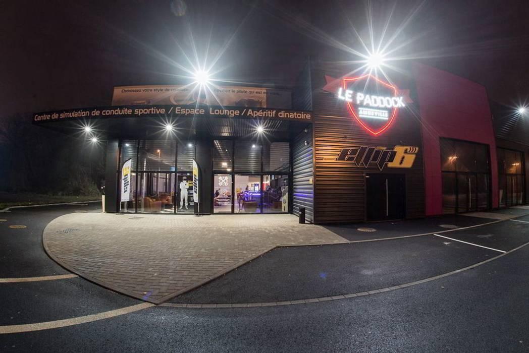 Bar Lounge Le Paddock Amnéville: Bars & clubs de style  par Jeremy Collin Ebeniste - créateur