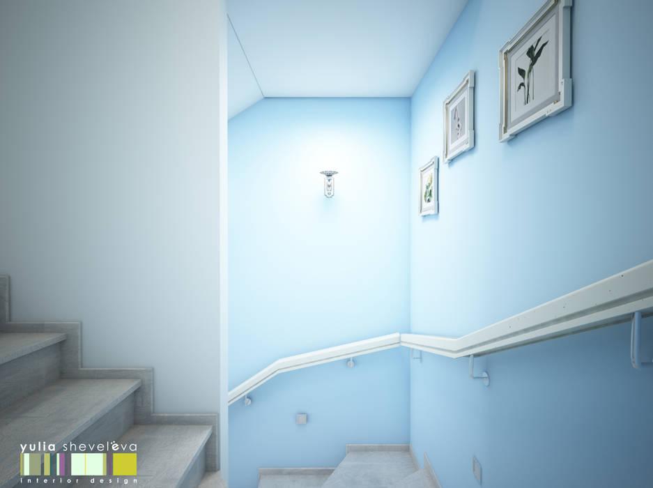 Pasillos, vestíbulos y escaleras de estilo clásico de Мастерская интерьера Юлии Шевелевой Clásico