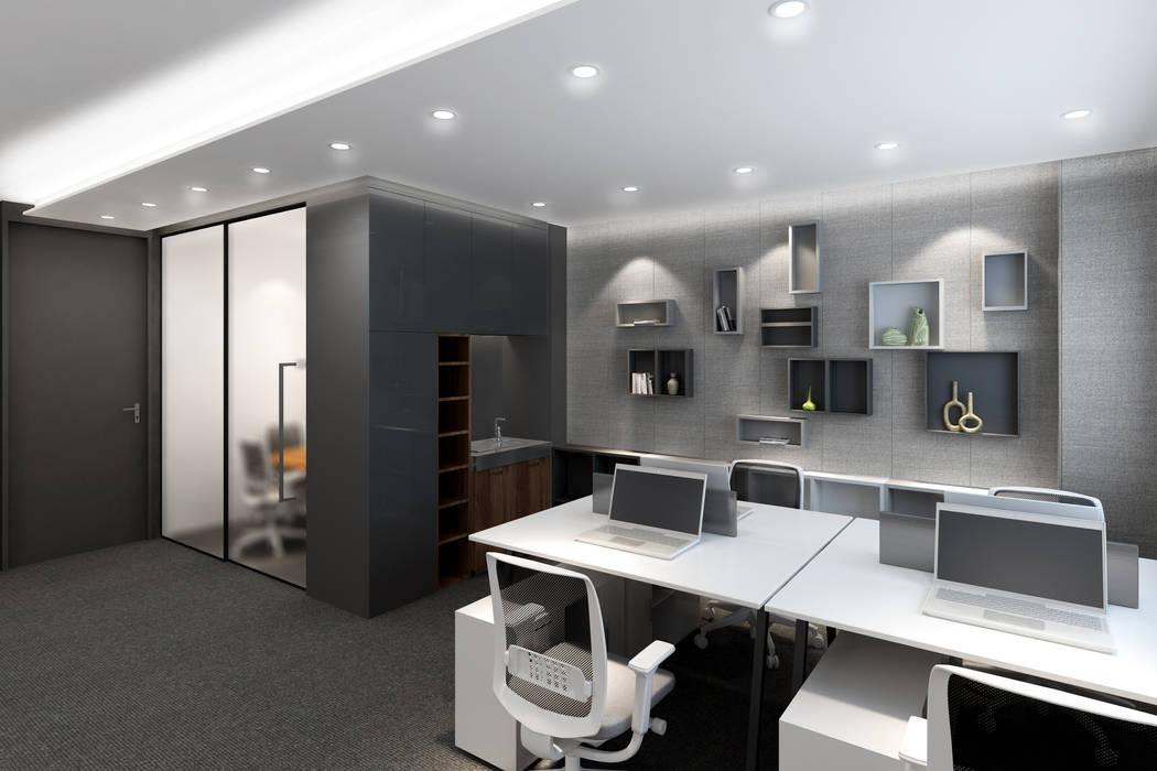 Espaces de bureaux modernes par Artta Concept Studio Moderne